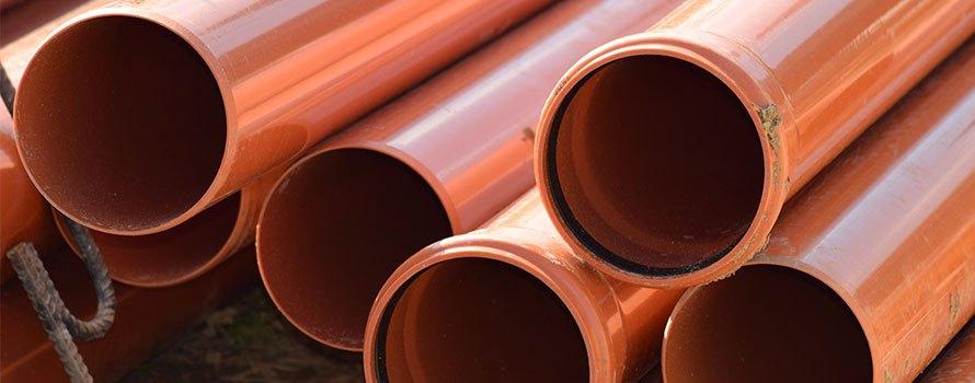 PVC-rör för avlopp